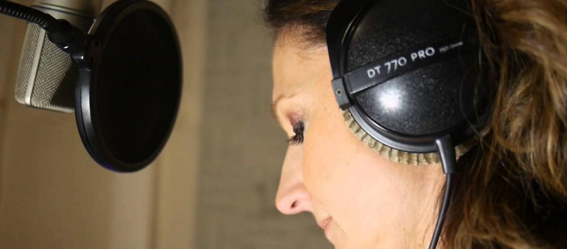 """En studio """"Au fond de tes yeux"""""""